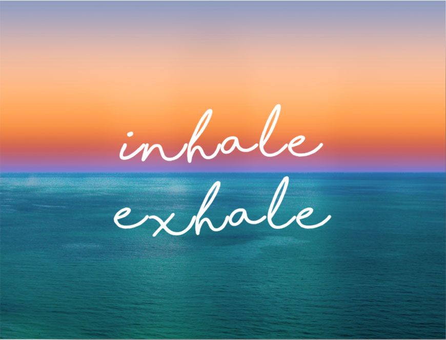 Inhale-exhale - BioYoga - Pratica bioenergetica